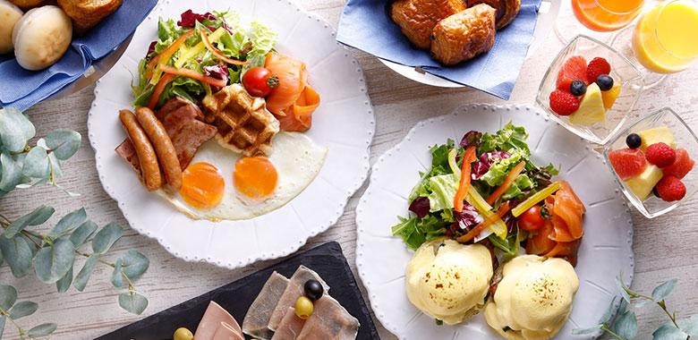 琵琶湖ホテルの朝食