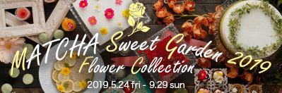 抹茶スイーツが食べ放題! MATCHA Sweet Garden 2019 ~Flower Collection~