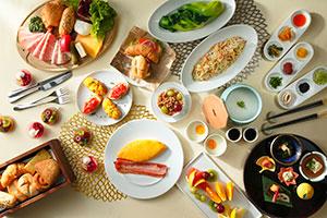 朝食オンパレ画像