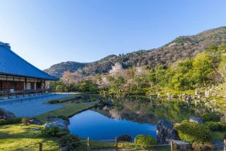 世界遺産「天龍寺」の見どころ|巨大な雲龍図・曹源池庭園の魅力イメージ>
