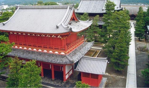 妙心寺の外観