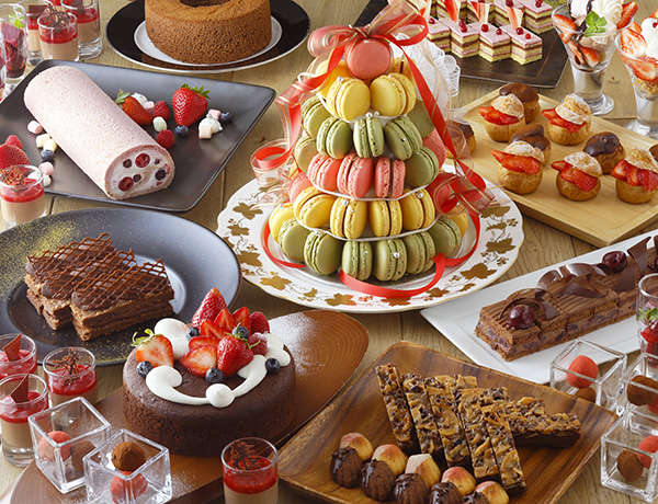Chocolate × Berry Special Buffet
